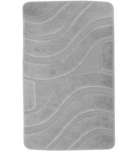 Tappeto polipropilene onda 60x100 cm grigio Feridras 776022