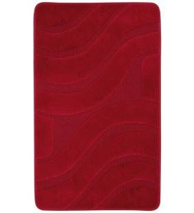 Tappeto polipropilene onda 60x100 cm rosso Feridras 776023