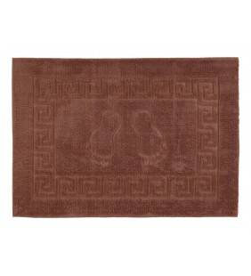 Tappeto piuma 50x70 cm - marrone Feridras 884003