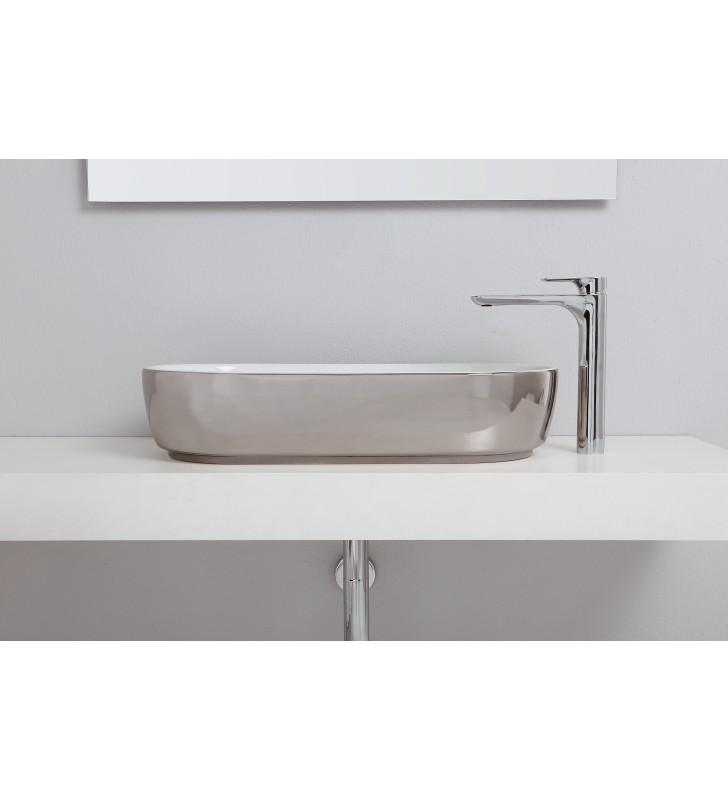 Remer infinity miscelatore monocomando lavabo alto senza scarico Remer I11L