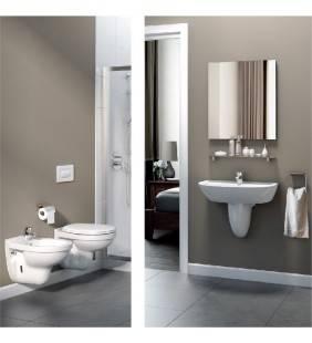 Set sanitari sospesi con lavabo quarzo/palio Ideal Standard setquarzo/paliosospeso