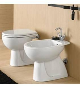 Set vaso wc e bidet a terra serie colibri 2 Idrobric setwcbidetcolibri2