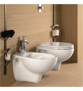 Vaso wc e bidet sospesi Pozzi Ginori - serie colibri 2 Idrobric setwcbidetcolibri2sospeso