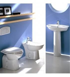 Set completo sanitari tradizionali con lavabo serie fiore rak ceramics Rak Ceramics setfiore