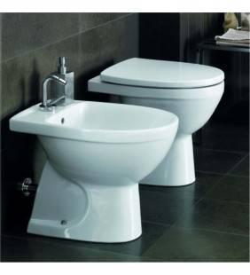 Bidet e wc a terra con sedile selnova 3 pozzi ginori Pozzi Ginori setwcbidetselnova3