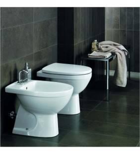 Set completo sanitari a terra selnova 3: lavabo con colonna,vaso con sedile e bidet pozzi ginori Pozzi Ginori setselenova3