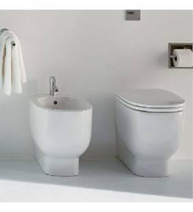 Vaso WC e bidet a terra di design serie 500  set500
