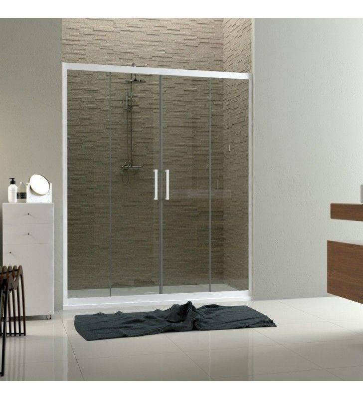 Porta scorrevole per box doccia a nicchia linux - Porta per nicchia doccia ...