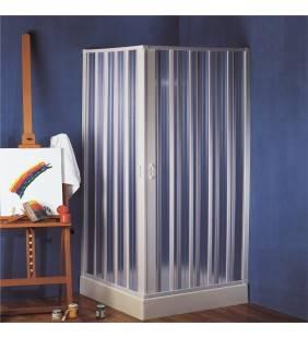 Box doccia angolare 100-80x100-80 h185 giove in plastica