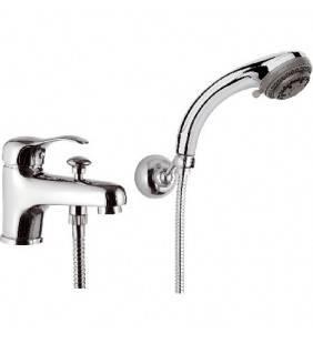 Rubinetto lavabo/vascacon deviatore e kit doccia - serie musa Remer M03