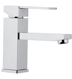 REMER Rubinetto miscelatore per lavabo senza scarico Serie Qubika