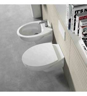 Set vaso wc e bidet sospesi serie day by day