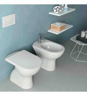 Set wc e bidet a terra serie ecostar Idrobric setwcbidetecostar