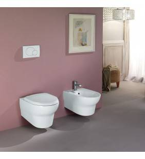 Set vaso wc e bidet sospesi serie infinity Rak Ceramics setwcbidetinfinitysopeso