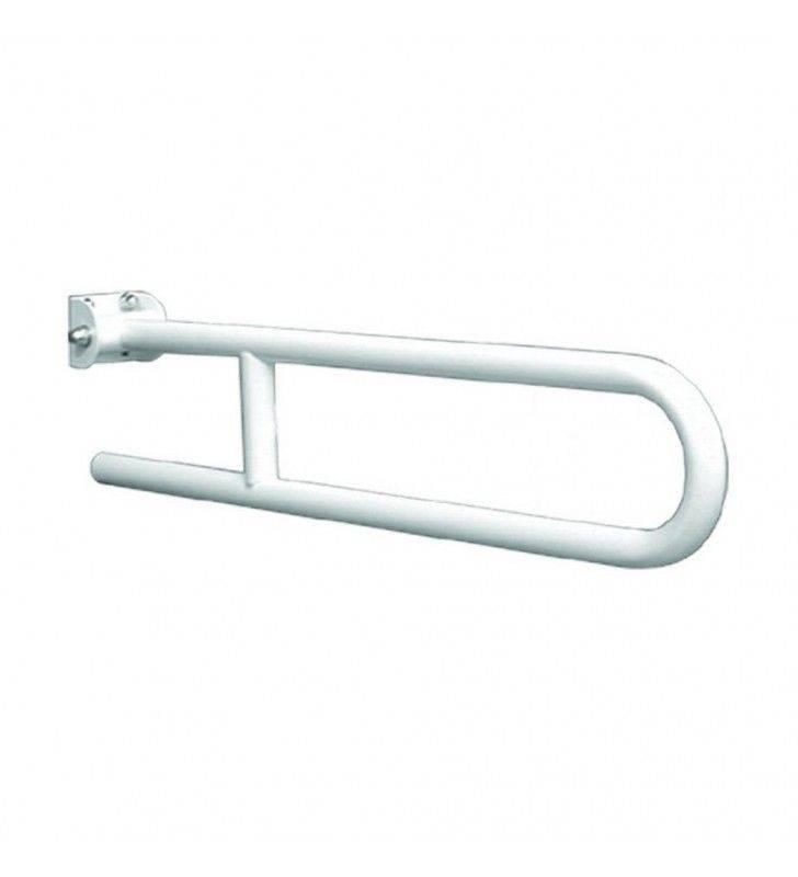 Barra maniglione ribaltabile da cm 60 nylon bianco Goman N-ZB04