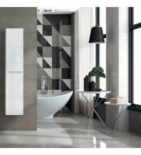Colonna sospesa love 150 h 35p 35l bianco lucido apertura sinistra ROYO SCAMOB0042CO