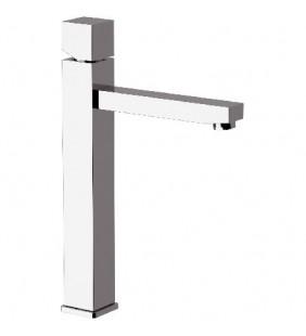Remer miscelatore lavabo alto design quadrato senza scarico sq3 Remer S11L3