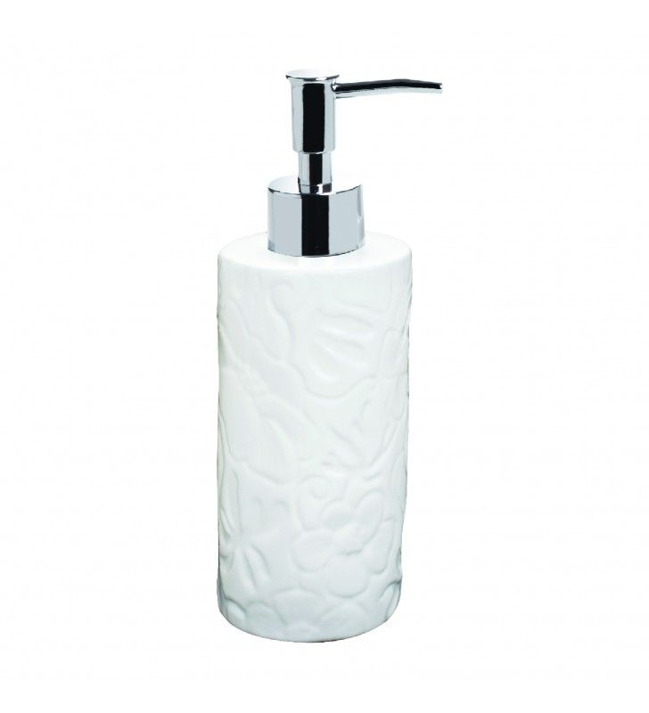 Art flora dispenser sapone in ceramica Aquasanit A100120ICE000
