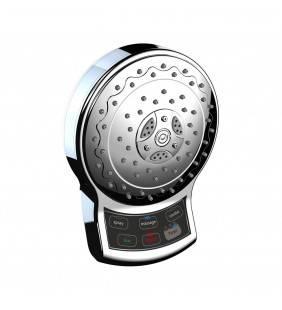 Soffione touch a 5 funzioni e timer con comandi elettronici a pile Idrobric SCASOF0044CR