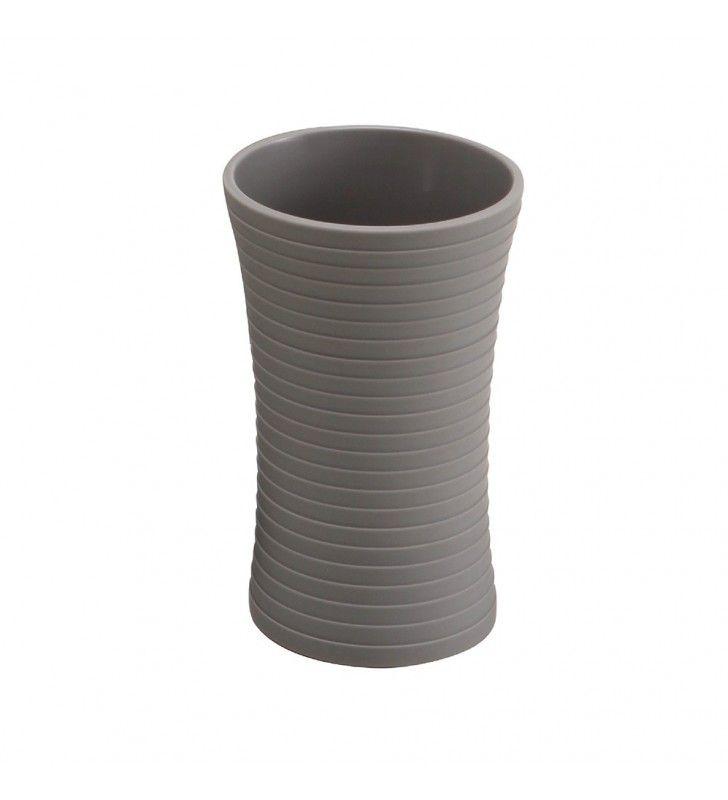 Bicchiere grigio - serie bowling Aquasanit QB3100GR