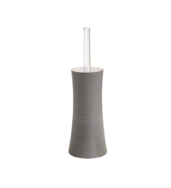 Portascopino grigio - serie bowling Aquasanit QB3140GR