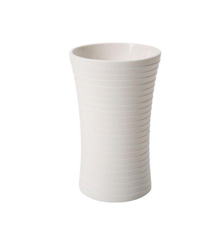 Bicchiere bianco - serie bowling Aquasanit QB3100WW