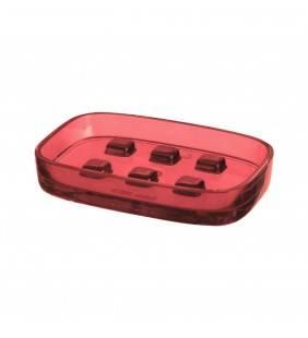 Porta sapone rosso - serie small Aquasanit Q07110FX