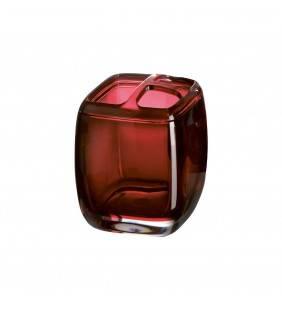 Porta spazzolino rosso - serie small Aquasanit Q07100FX