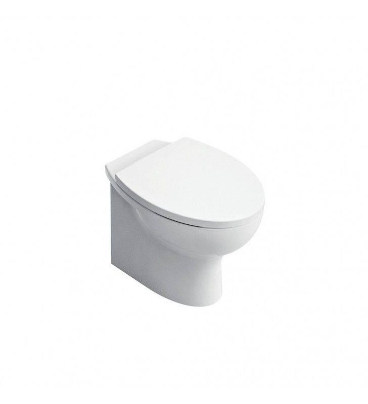 Set vaso wc e bidet a filo muro serie day by day Idrobric setwcbidetdaybydayfm