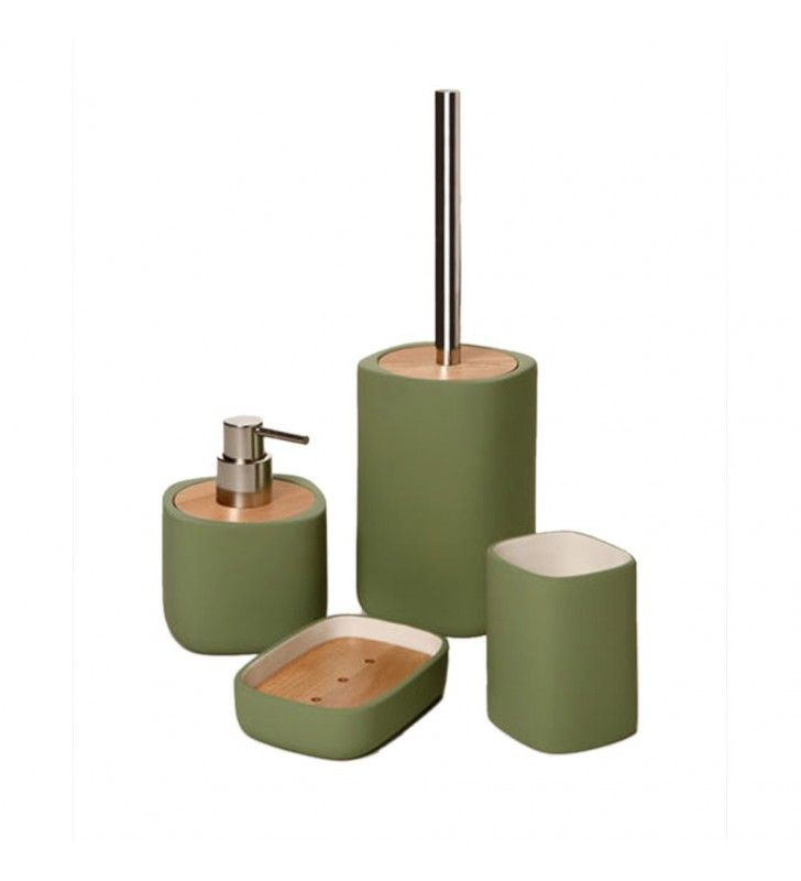 Set completo color verde - serie twin Aquasanit SET11
