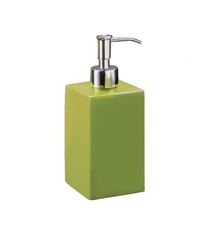 Dispenser sapone rosso Serie Color