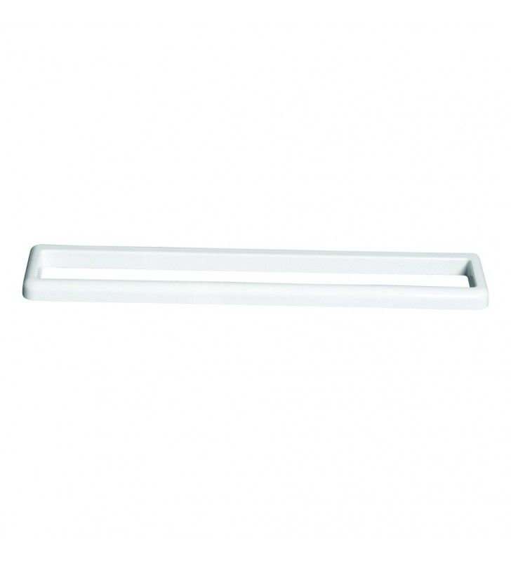 Porta salviette 56 cm a muro - serie white Aquasanit A10818IMP001