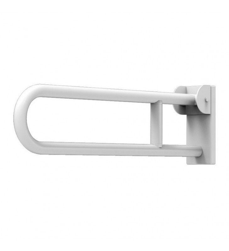 Maniglione ribaltabile cm.82 removibile bianca Goman E-ZB14/01
