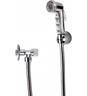 Set doccetta bidet con rubinetto e supporto cromato Remer 332RERCR
