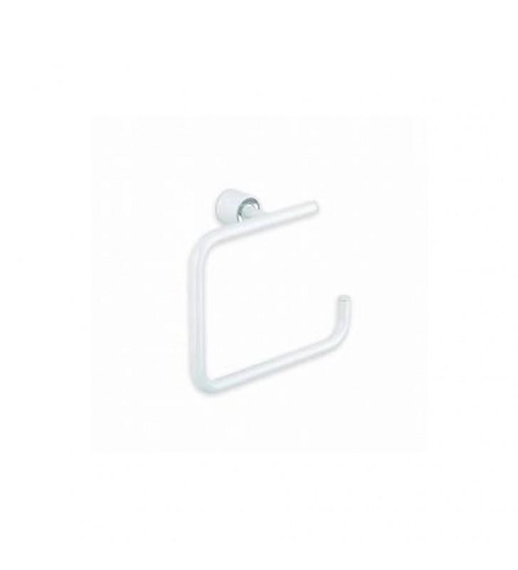 Porta salviette ad anello serie enjoy laccato bianco lucido