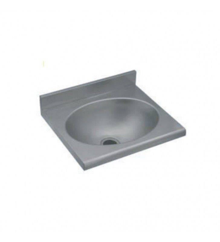 lavabo antivandalo rettangolare inox. Black Bedroom Furniture Sets. Home Design Ideas