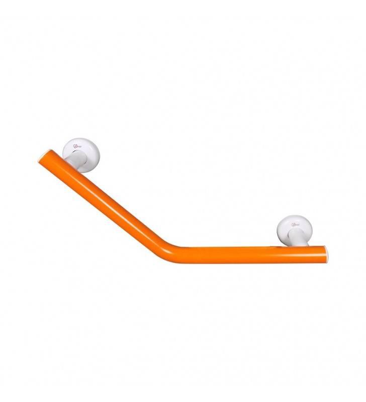 Maniglia di sicurezza cm 25x25 45 gradi color arancio, goman Goman LEO-MA1/65