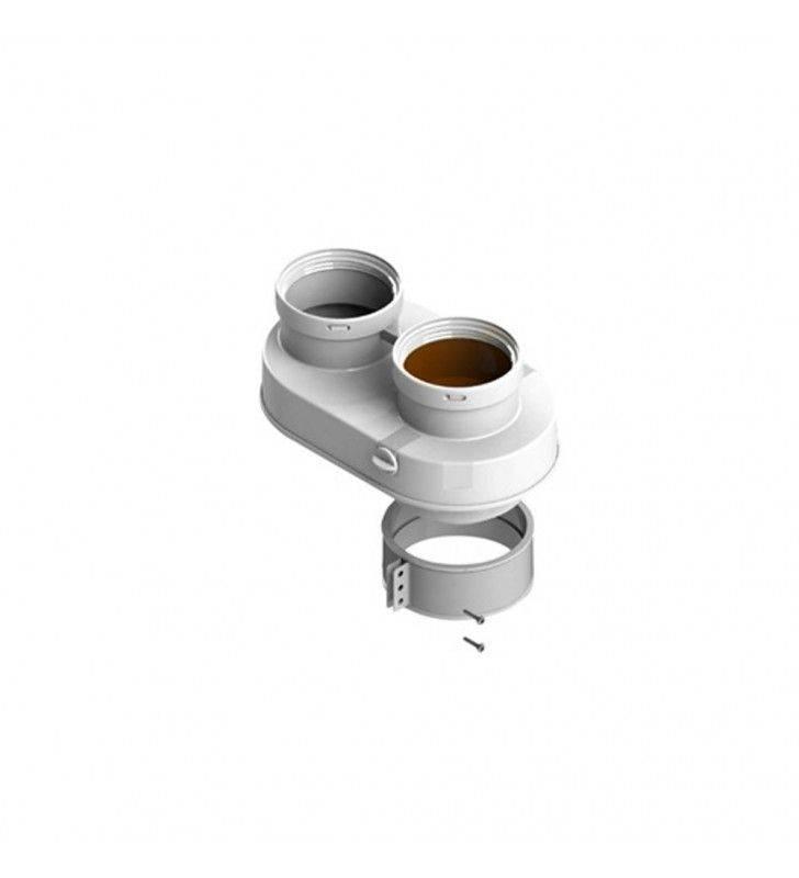 Sdoppiatore universale d60-100 mm in acciaio zincato per beretta Idrobric SFUCAL0141SD