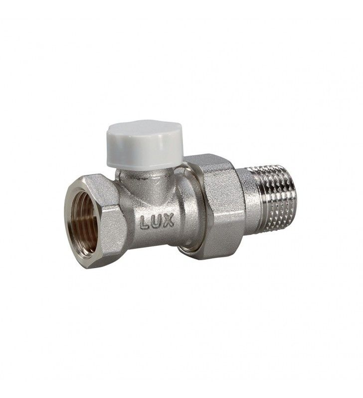 Detentore diritta per radiatori attacco ferro d1-2 pollice Idrobric CARVAL0022VA