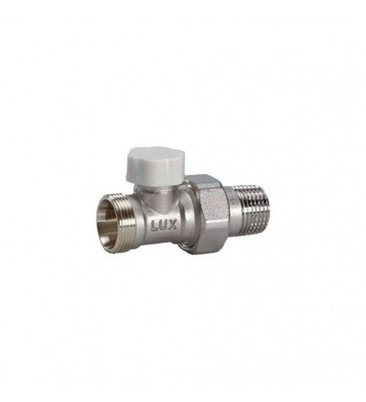 Detentore diritto per radiatori attacco rame-multistrato d1-2 pollice Idrobric CARVAL0033DE