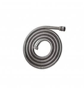 Flessibile doccia di 150 cm in acciaio, cromato con doppia aggraffatura Idrobric H0232A150