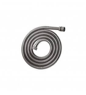 Flessibile doccia in acciaio cm 200 cm doppia aggraffatura, cromato Idrobric H0232A200