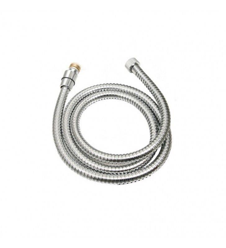 Flessibile da 150 cm in acciaio cromato, doppia aggraffatura Idrobric BLIFLE0024CR