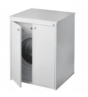 Nascondi lavatrice in resina con ante in kit Negrari 5012P