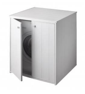 Nascondi lavatrice in resina con ante xxl in kit Negrari 5013P