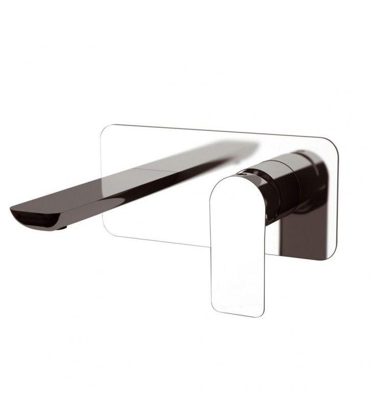 Miscelatore lavabo ad incasso parete remer serie infinity Remer I15