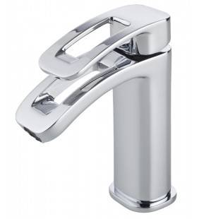 Miscelatore lavabo serie Versys Idrobric SCARUB0284CR