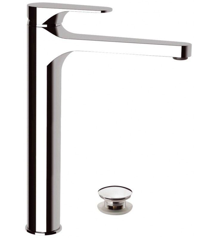 Class line miscelatore lavabo per bagno moderno con piletta click clack