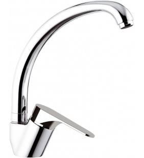 Miscelatore per lavello con bocca alta girevole tipo lusso - serie class line Remer L42