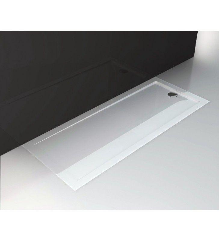 Piatto doccia 70x170 h4 cm ultraflat in puro acrilico extra rinforzato Idroclic ICTR1770